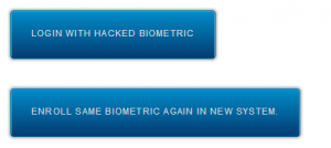 hacked biometric login